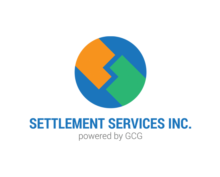 Logo for a settlement administration company.